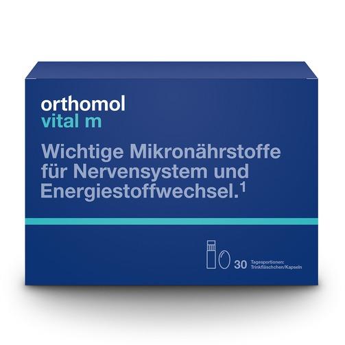 Orthomol Vital M  [남성용 영양보충제 / 마시는 병 타입 + 캡슐] 30일분