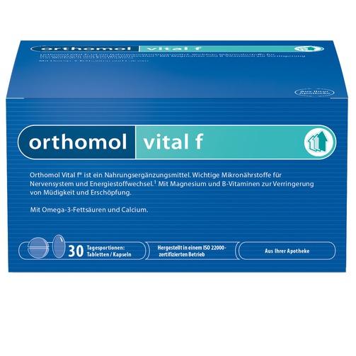 Orthomol Vital F Tabletten/Kapseln Kombipackung 30tage